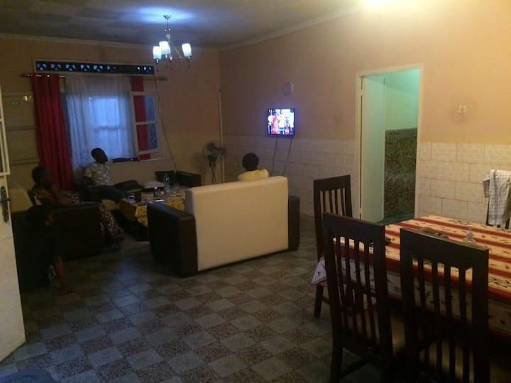 Three Bedrooms house in central Kinshasa Kasa Vubu