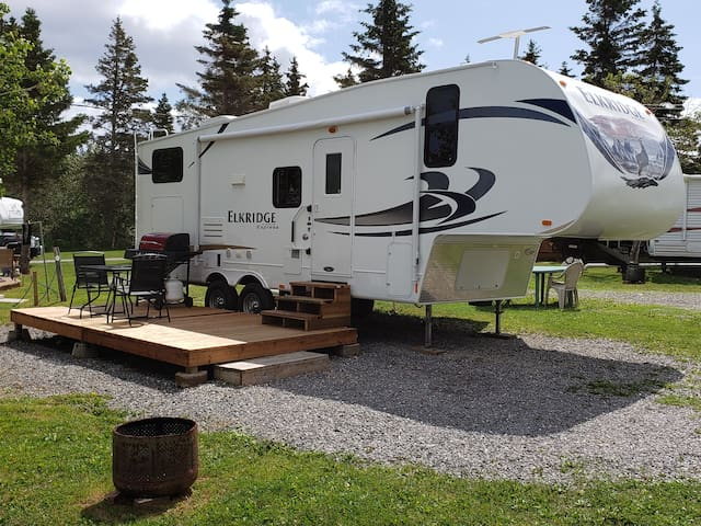 Sellette 27 pi Camping du Cap Rouge Percé et Gaspé