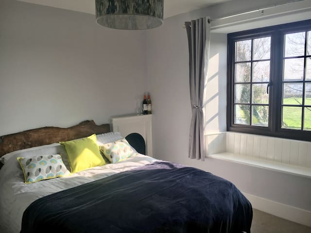 Meare Green Farm - double bedroom en-suite TA3 6HT