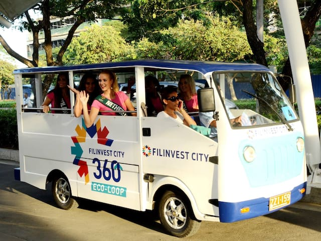 Eco friendly Shuttle rides in the area