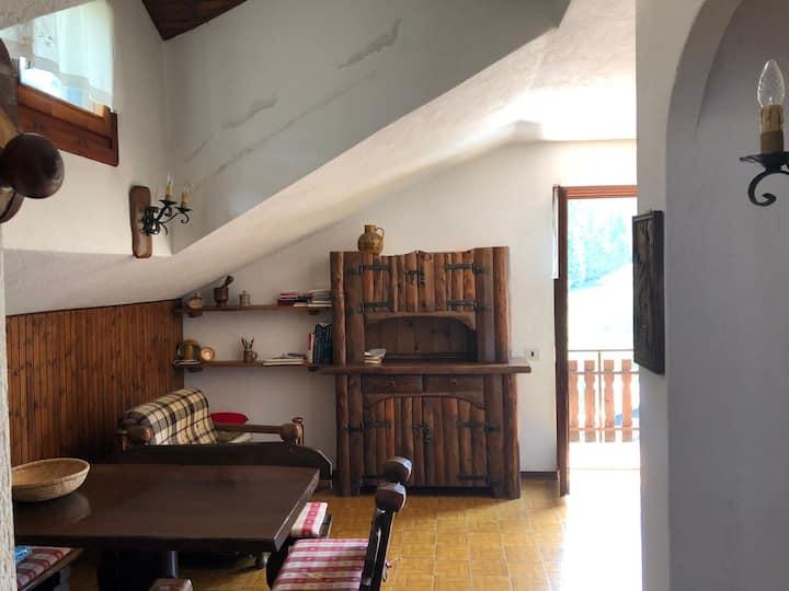 Luminoso appartamento ai piedi del Monte Alben