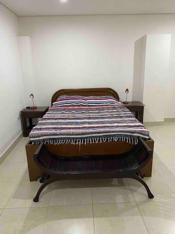 Suite número 2. Amplia con cama de 1,60