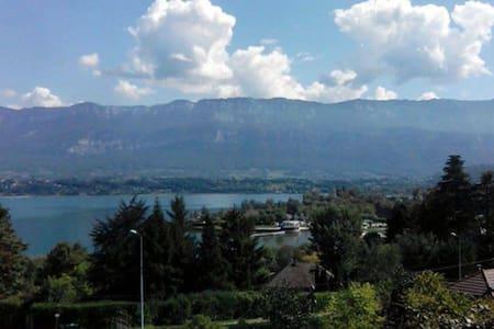 Appartement vue lac et montagne - Apartment