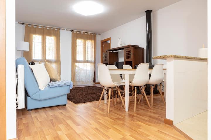 Coqueto apartamento en Valdelinares .