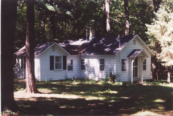 Carpenter house at entry to woodland trails