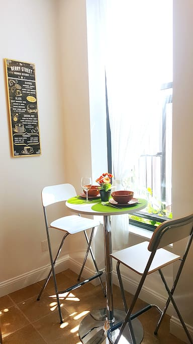 Cozy breakfast nook to enjoy your homemade meals