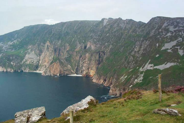 Slieve League getaway, close Carrick village.