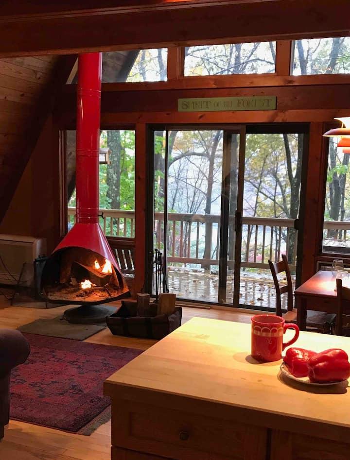 A-Frame Cottage off Candlewood Lake