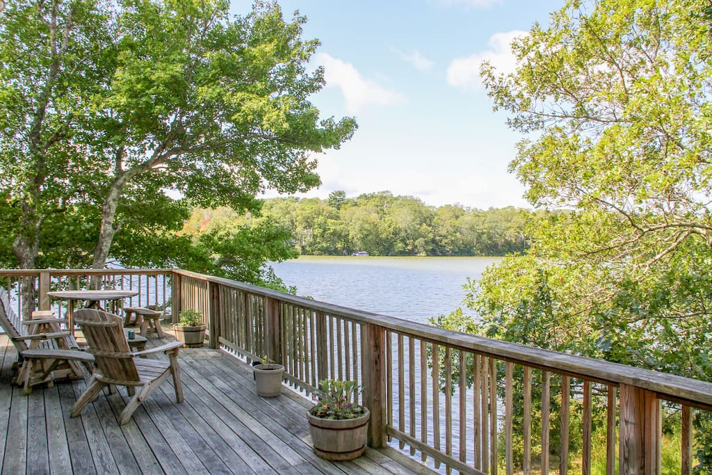 Enjoy superb lake views from expansive wraparound deck. This home is professionally managed by TurnKey Vacation Rentals.