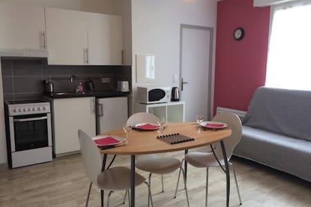 Studio neuf centre Bretagne + vélos - Loudéac - 公寓