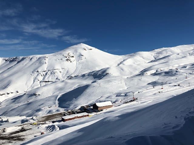 Notable Depto (6p) nuevo Valle Nevado