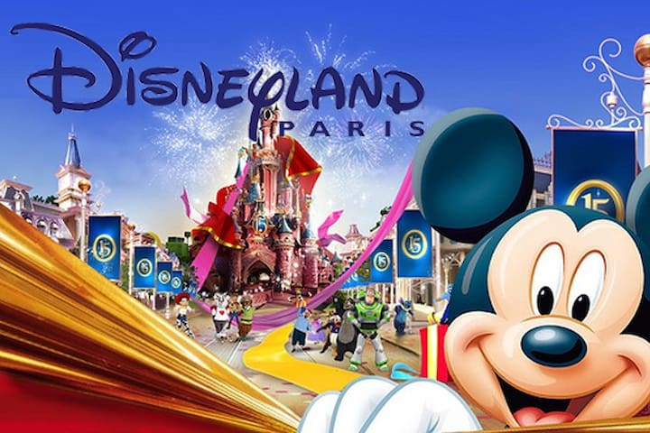 DISNEYLAND PARIS/ Val d'Europe BRIGET'Appart - Chessy - Apartemen