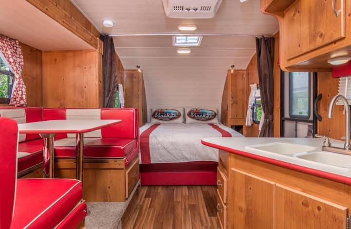 WATERFRONT Brand New Vintage camper by Downtown!