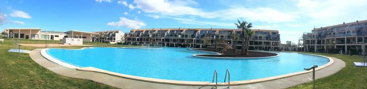 Apartamento de 2 dormitorios en Golfmar Resort