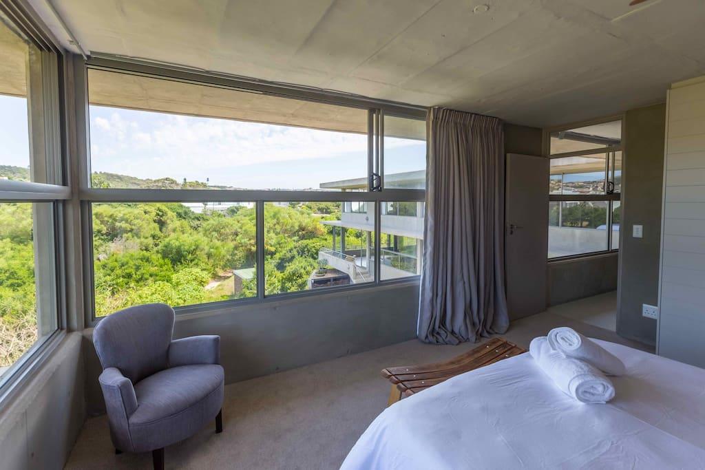 Bedroom 1 with en-suite and shower