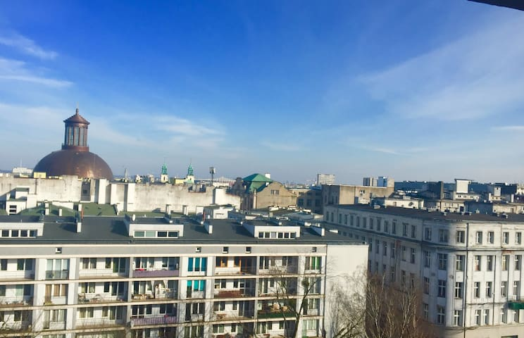 Dabrowskiego Apartment in Warsaw city centre