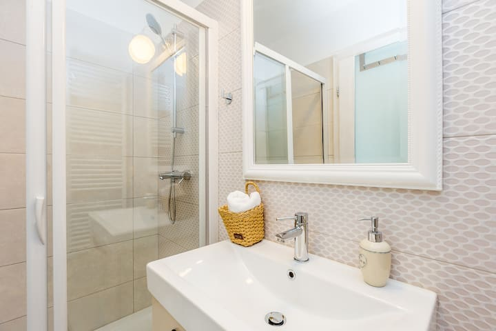 Bathroom inside of Master Bedroom