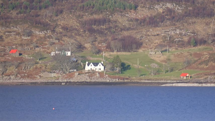 Rechullin from across the loch.