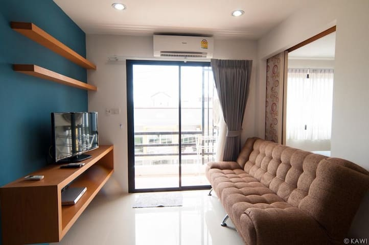 1Bed New 36sqm. Cozy Free WIFI - Kathu - Daire