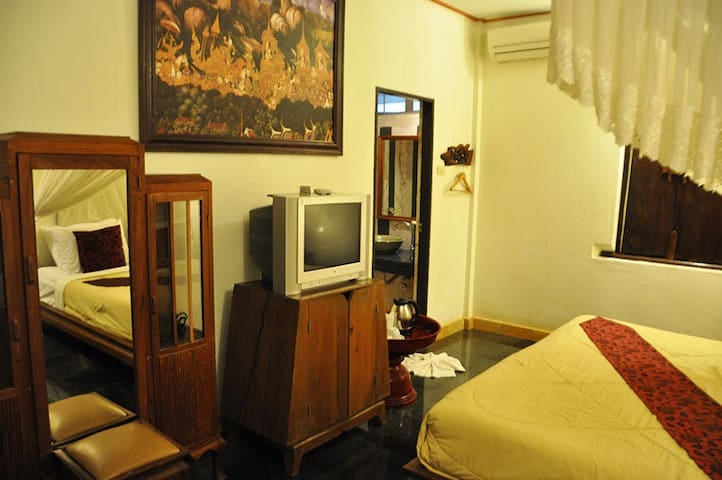 Lovely Double Room in Sukhothai - Tambon Ban Suan - Apartment