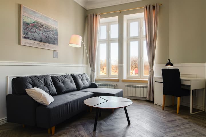 Quiet apartment in the historical part of Odessa