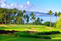 Nearby Wailea golf course