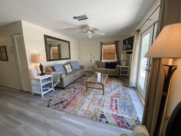 2 Bedroom Flat Across from Public Beach Access