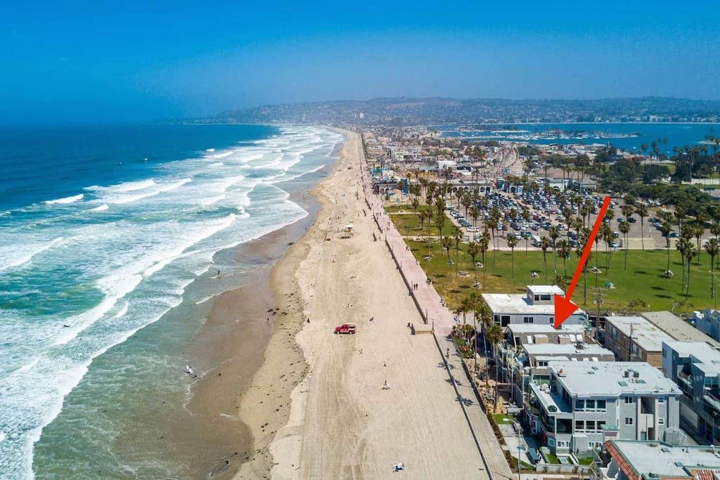 Located on the ocean front just south of Belmont Park
