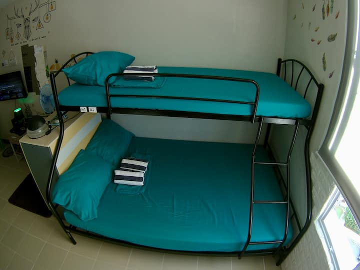 Bunk Bed on Mixed Shared Dorm - Double Bed