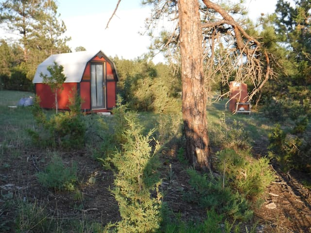The Shipping Container Cabin on Two Track Trail - Dewey - Cabana