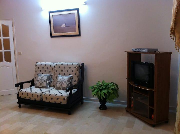 Appartement *sécurisé* lumineux NABEUL TUNISIE
