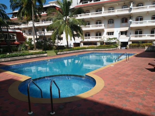 Fully Furnished 1 Bhk centrally located @ Colva.