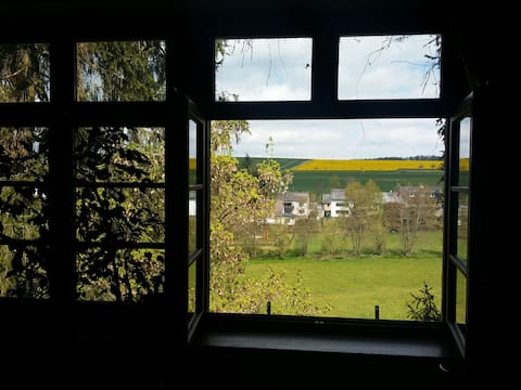 Alte Schule im blauen Ländchen! Ruhe und Erholung!