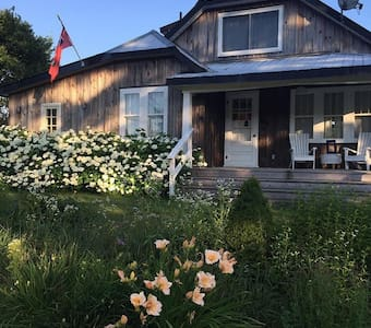 Stunning 100acre 4 season farmhouse - Minden - บ้าน