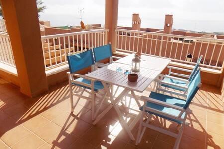 Apartamento nuevo con vistas al mar - Mojácar - Apartament