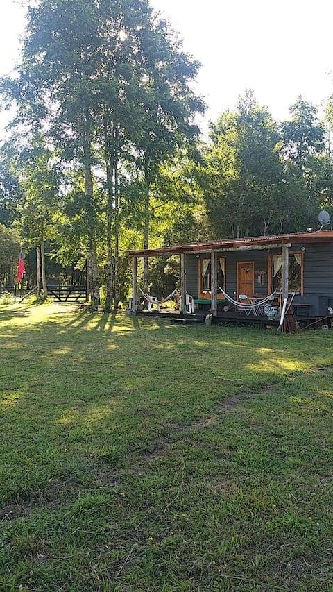 Cabaña Rústica en Mayay, Lago Ranco