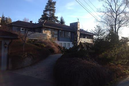 Villa på Vettakollen - flott utsikt - Oslo - Villa