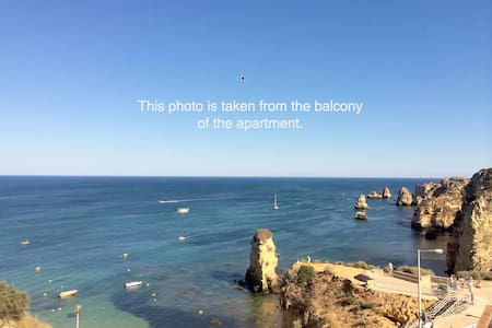 Amazing views of Dona Ana Beach in Lagos, Portugal - 拉各斯