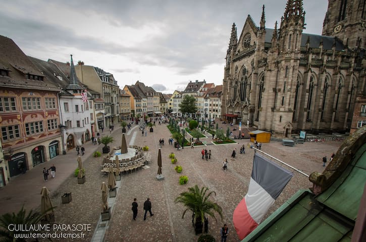 APPARTEMENT COZY COEUR HISTORIQUE - Mulhouse - อพาร์ทเมนท์