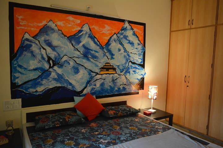 Spiti Series - Private Room in a villa