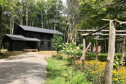 Stunning Nordic Modern Cabin on Five Idyllic Acres
