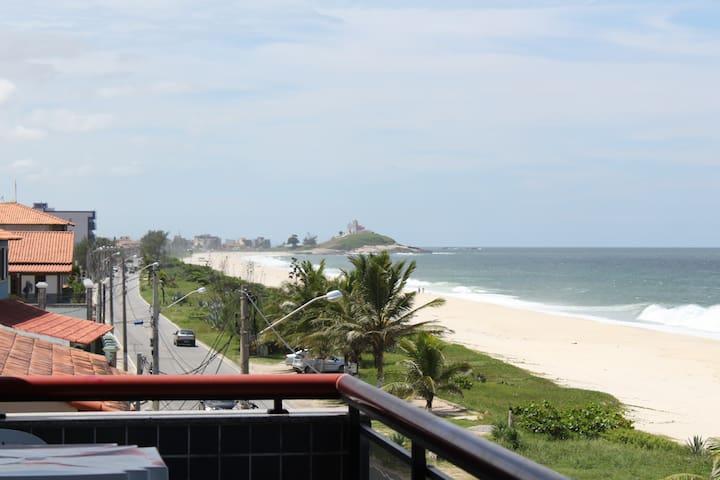 Paraíso, Região dos Lagos, Frente Praia Saquarema