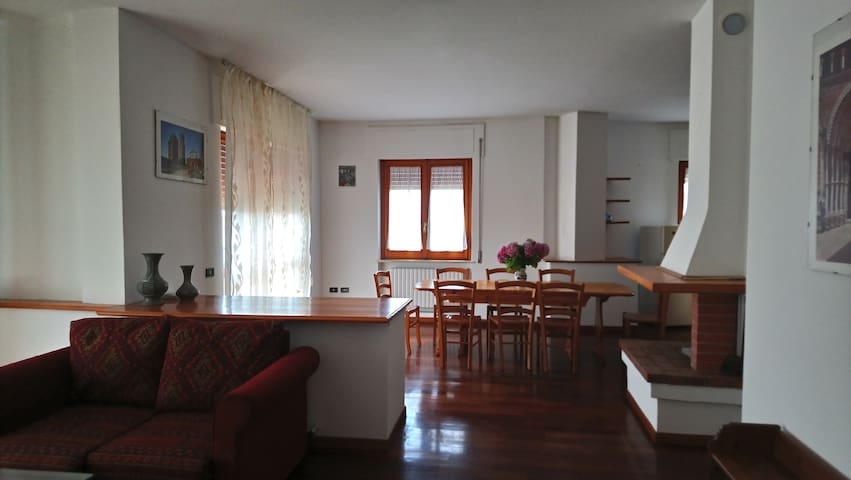 Appartamento spazioso, confortevole e luminoso