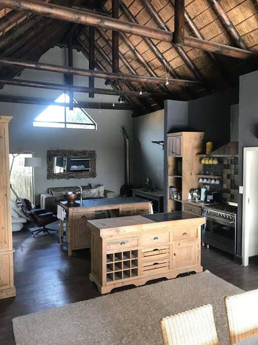 Opem plan living area