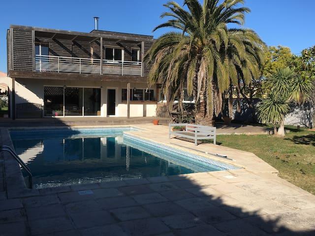 Chambre privée proche mer (Hérault) - Sauvian - Villa