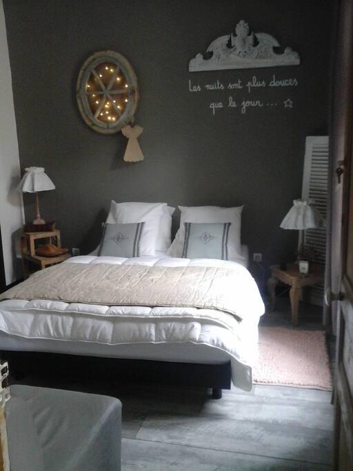 Charmante chambre d 39 h tes 2 pas de la plage maisons for Chambre d hote wimereux