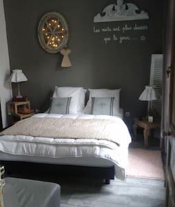 Charmante chambre d'hôtes à 2 pas de la plage - Haus