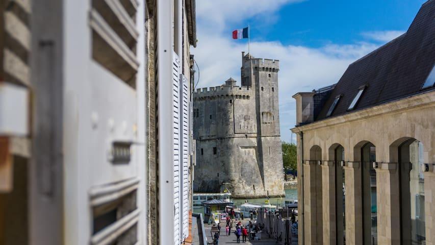 Studio sur le Vieux Port de La Rochelle