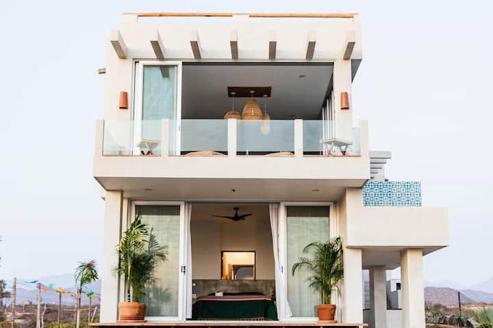 Casual Modern Luxury on Cerritos Beach