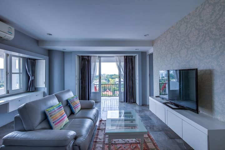 Penthouse - Panoramic view in Heart of Nimman 10F